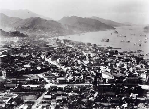 広島市への原子爆弾投下